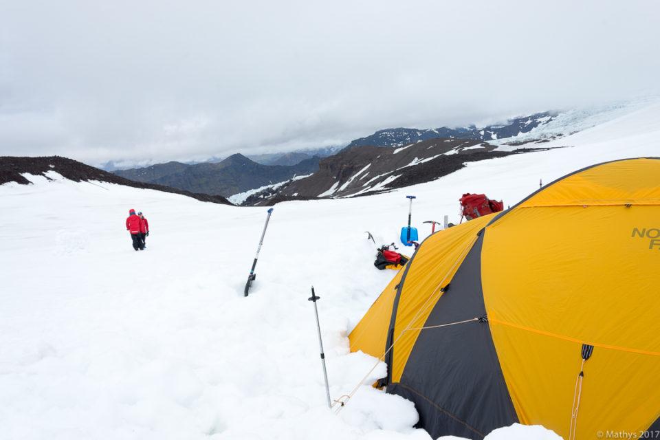 L'ascension du Hvannadalshnjúkur au sein du parc du Skaftafell, guides IMG