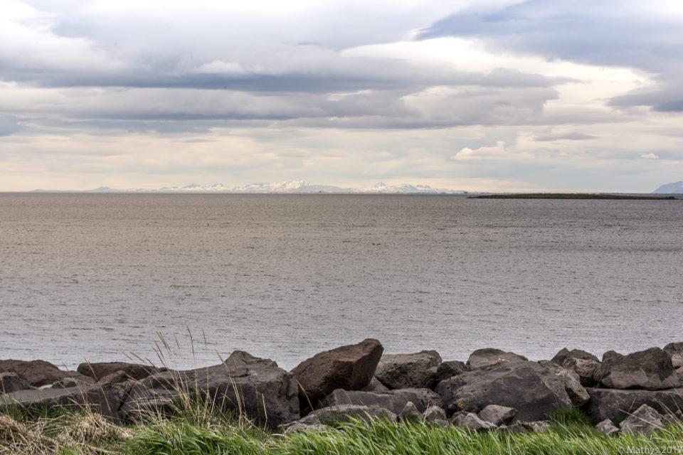 Islande, Reykjavik, Seltjarnarnes, balade, soleil de minuit, printemps, faune, montagne, océan, Atlantique, cimes, roches, aventure